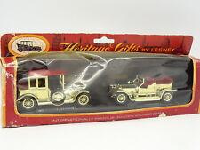 Matchbox Lesney 1/43 - Coffret 2 Rolls Royce Gold