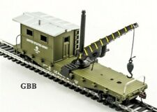 HO Scale US ARMY WORK CABOOSE with CRANE Model Power New 98195