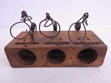 Antique Guillotine Choker Mouse Trap 3 Place Noose Style
