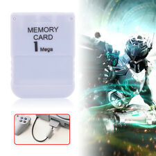 Memory Card White 1 MB 1 M for Sony Playstation 1 One PS1 PSX Game System SG One