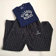 Womens Villanova Lounge wear lot Long sleeve Thermal Sz S & Cotton pants Sz L