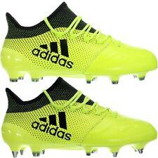 Adidas X17.1 LEATHER FG oder SG Profi - Fußballschuhe gelb schwarz Herren NEU