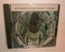 RICARDO D'ORLANDO ~ TITAN ~ #7 OF 50 ~ ELECTRONIC ANALOG SYNTHESIZER MUSIC CD