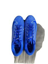 New listing nike vapor Size 10 Boys Men Blue And White Soccer Cleats