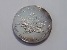 Kanada - 5 Dollar - Silber - ST - Maple Leaf - 1 Unze Silber - 1988