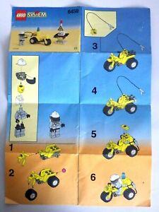 Anleitung lego System 1999 Handbücher Anleitung Nr°6459 Anleitung Montage