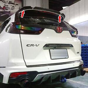 Unpainted ABS For Honda CR-V CRV 5th 5DR 3PCS Rear Trunk Spoiler 2017-2019 NEW
