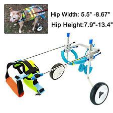 Ajustable Pet/Dog Wheelchair for Hind Legs Rehabilitation small Dog Free US Ship