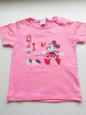 T shirt fille rose 12 mois motif Minnie Disney Baby Z génération neuf