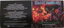 Iron Maiden From Fear to Eternity EU Advance Promo 2-CD On Custom Recordable