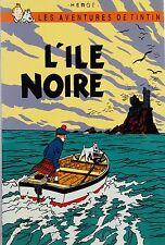 Vietnam Lacquer Art Paiting TINTIN - Plate - The Black Island - L'Île Noire