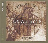 Bird of Prey: Best of Uriah Heep CD/DVD (NTSC/Region 0) 2 disc, good