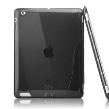 iSkin solo Smart Back Cover For New iPad 3 & iPad 2 - Black BRAND NEW