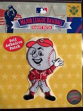MLB Cincinnati Reds Mr Rouge Agitant Mascot Patch - COLLANT SUPPORT 2013