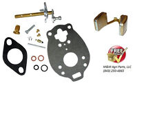 CARBURETOR KIT & FLOAT FORD NAA JUBILEE 600 700 TRACTOR TSX428 TSX580 CARB