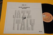 ALDO VIGORITO QUARTET LP DO IT ITALY JAZZ 1°ST ORIG  NM ! UNPLAYED !