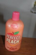 BATH AND BODY WORKS PERFECT PEACH 3 IN 1 WASH BUBBLE AND SHOWER~16OZ~RARE