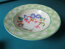 Lenox Footed Bowl Centerpiece Summer Greetings Signed [*D6]