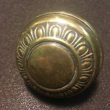 Antique Victorian Brass Sargent J-15503 Crete 1910-1930 Egg and Dart