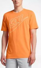 NIKE MENS GOLF DRY SOLAR FADE MODERN FIT T-SHIRT ORANGE XXL 839866 867 NEW $40