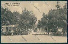 Pistoia Montecatini cartolina QQ1442