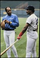 Jim Rice Cecil Cooper 35mm Baseball Slide Boston Red Sox Milwaukee Brewers D4