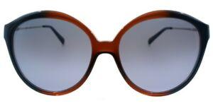 Michael Kors MK6005 MYKONOS 300717 Brown Blue Gradient Round Sunglasses $125MSRP