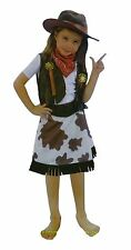 Bermoni® Cowgirl Dressing Up Costume (7 to 10) (COW-02)