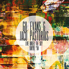GIL EVANS & JACO PASTORIUS - Live Under The Sky Tokyo '84. New 2CD + Sealed