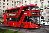 LT793 LTZ 1793 METROLINE NEW ROUTEMASTER 30TH DEC 2017 6x4 London Bus Photo B