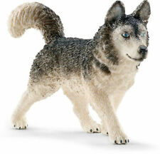 New Sealed w/ Tags Schleich Husky dog Snow Dog 16835 Retired toy Nwts