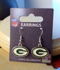NFL Green Bay Packers Dangle Earrings Gifts for women
