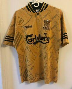 Original Vintage Liverpool 1994-1996 Third Soccer Jersey Football Shirt 38-40