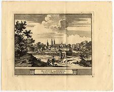Antique Print-EGMOND-ABDIJ-ABBEY-NETHERLANDS-Schijnvoet-Roghman-1754