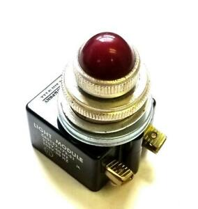 Square D C65122-172-51 Red Light Module 220 V 50/60 Hz