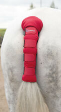 Shires Arma Padded Horse Tail Guard in Red Onesize