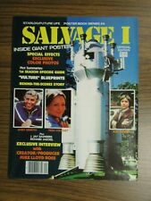SALVAGE 1 Poster Magazine VULTURE SPACE SHIP BLUEPRINTS Griffith Stewart Higgins