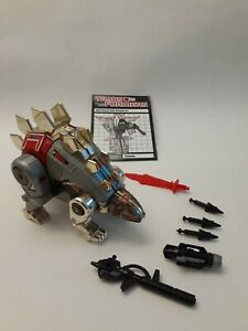 Vintage 1985 Transformers G1 Autobot Dinobot Snarl Complete with  Instructions