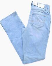 MAC MELANIE Stretch hell blau bleached Gr.36 L34 straight fit NEU