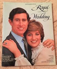 Invitation to a Royal Wedding - Charles & Diana by Kathryn Spink 1981 HC/DJ