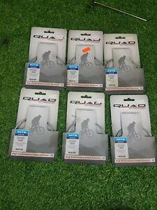 Bicycle gear cable Galvanised Derailleur wire Quad  LOT OF 6 PCS