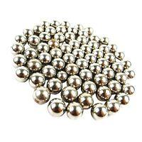 100 x 9.5mm STEEL BALL BEARINGS SLINGSHOT AMMO PRO DIABLO CATAPULT BLACK WIDOW