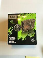 New Bushnell 4x20 202208 Laser Rangefinder Bone Collector Lrf RealTree Camo