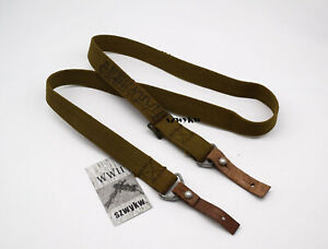 Surplus Military Chinese PLA 7.62mm Canvas SKS Sling
