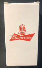 NEW Budweiser Red Light Goal Glass Sync Bluetooth NHL Hockey Beer Cup Open Box