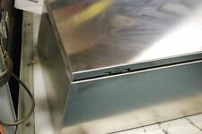 """SCE Slop Top SS Enclosure SCE-24EL2408SSST, 24"""" x 24"""" x 8"""", Never Used"""
