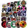 100 Skateboard Stickers Vinyl  Bomb Laptop Luggage Car Luggage Skateboard Decals