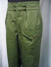WW2 British JG jungle green battledress trousers  size M