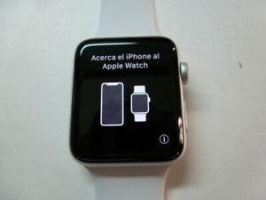 Apple Watch series 3 Nike+ 42mm Silver Aluminium Case with band - USED