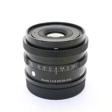 SIGMA 45mm F/2.8 DG DN Contemporary (for Leica SL/TL mount) -Near Mint- #356